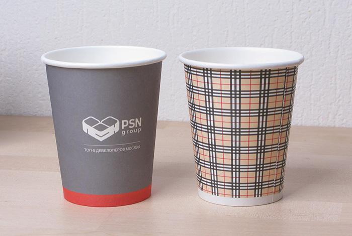 Бумажные стаканчики - pinterestru